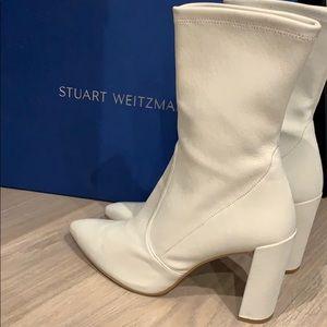 NWT authentic Stuart Weitzman leather boots SZ10